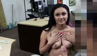 virkelighet brunette blowjob sædsprut facial