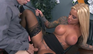 Britney Shannon with huge milk sacks screams from endless orgasms after getting screwed good and hard good and hard by Danny D