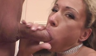 This hot mommy is an outstanding cock-sucker
