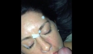amatør blowjob sædsprut facial bukkake