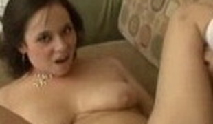 Exotic pornstar Aarielle Alexis in insane cumshots, brunette porn video