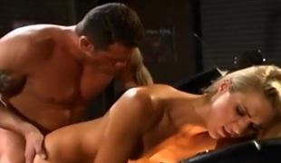 barbert anal blonde hardcore deepthroat blowjob sædsprut facial høyskole par
