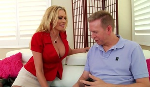 Elegant Briana Banks screwed bad in her butt aperture