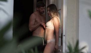 anal babe vakker kyssing utendørs store pupper blowjob sædsprut truser ridning
