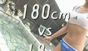 Cosplay Porn: Tall Japanese Volleyball Player Asian Sex part 3
