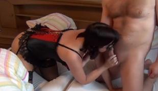 amatør brunette lingerie strømper sædsprut fetish tysk hd rett