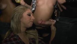 Cock-sucking party leaves a bitter memory