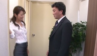 Amazing Japanese chick Maki Hojo in Hottest JAV uncensored Facial clip