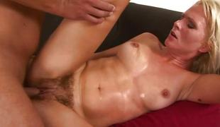 Blonde Kathy Anderson can't live without to fuck