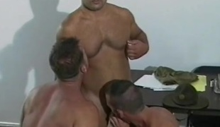 Fit military bottom wazoo fucked from behind