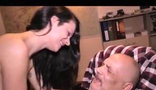 amatør european brunette blowjob tysk rett