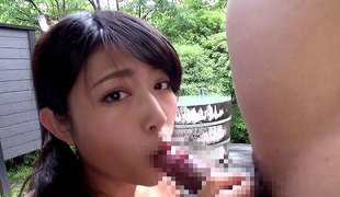 Fabulous Japanese model Rion Chigasaki in Hottest JAV censored Small Tits, College episode
