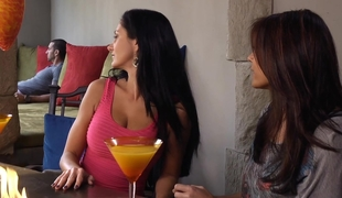 Ava Addams, her friend and her neighbour