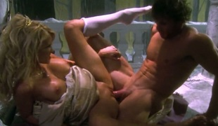 Jessica drake is on the edge of nirvana with cum on her face