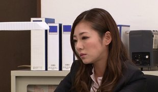 Extravagant babe from Japan goes wild and has sex in the elevator