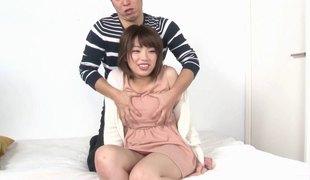 naturlige pupper hardcore blowjob sædsprut facial truser fingring leketøy vibrator asiatisk