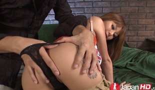 Japanese sweetie Kokoa Ayane acquires drilled well by her desirous buddy