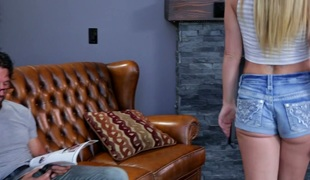 tenåring vakker hardcore blowjob sædsprut facial ridning ass små pupper handjob