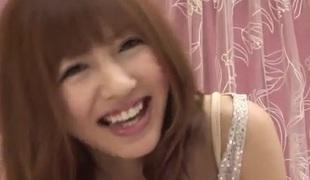 Creamy porn show with petite tits Kotone Aisaki
