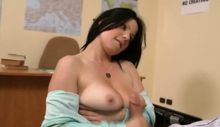 Klaudia Hawt loses control after Jay Snake sticks his boner in her mouth