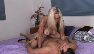 Bewitching aged wants to fuck and to get some sexy cream