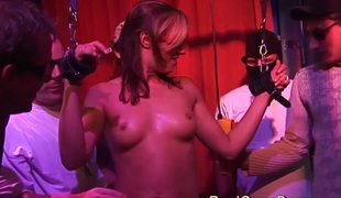 Excited busty german babes 1st bukkake groupsex ganbang fuck party orgy