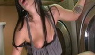 Hottest pornstar Andy San Dimas in incredible blowjob, cumshots porn movie