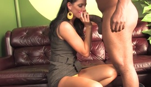 Son watching mamma India Summer getting fucked by a BBC