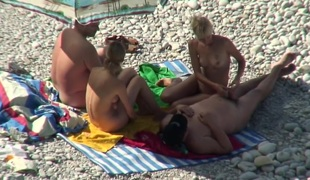 Hottest Amateur movie with Nudism, Voyeur scenes