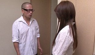 Lascivious Japanese slut Rosa Kawashima in Best JAV uncensored Creampie scene