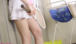 Crazy Japanese model Airi Suzumura in Hottest face sitting, changing room JAV clip