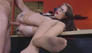 Anna De Ville gave her boss a valuable engulfing