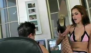 virkelighet naturlige pupper langt hår hardcore slikking pornostjerne blowjob ass kontor handjob