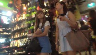amatør tenåring asiatisk voyeur