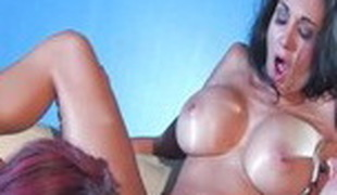 Fabulous pornstars Jayden Jaymes and Ava Addams in best cunnilingus, brunette xxx video