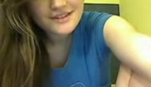 amatør tenåring brunette onani webkamera rett